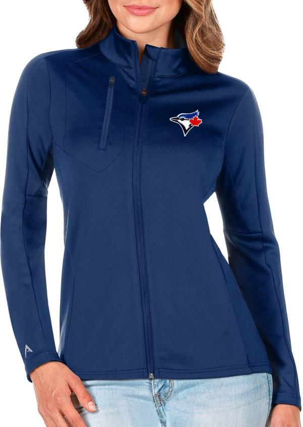 Antigua Women's Toronto Blue Jays Generation Full-Zip Royal Jacket product image