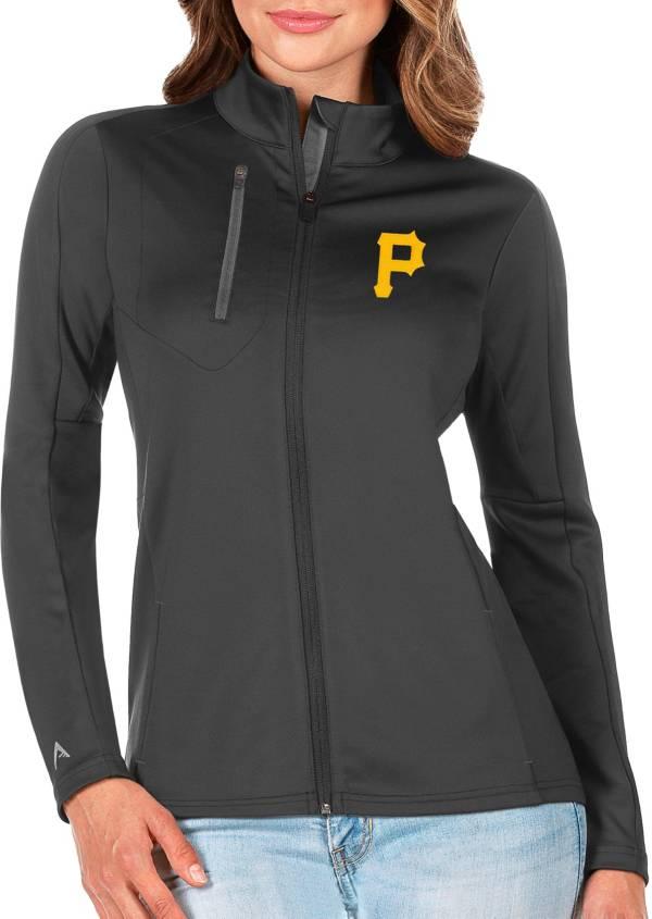 Antigua Women's Pittsburgh Pirates Generation Full-Zip Gray Jacket product image