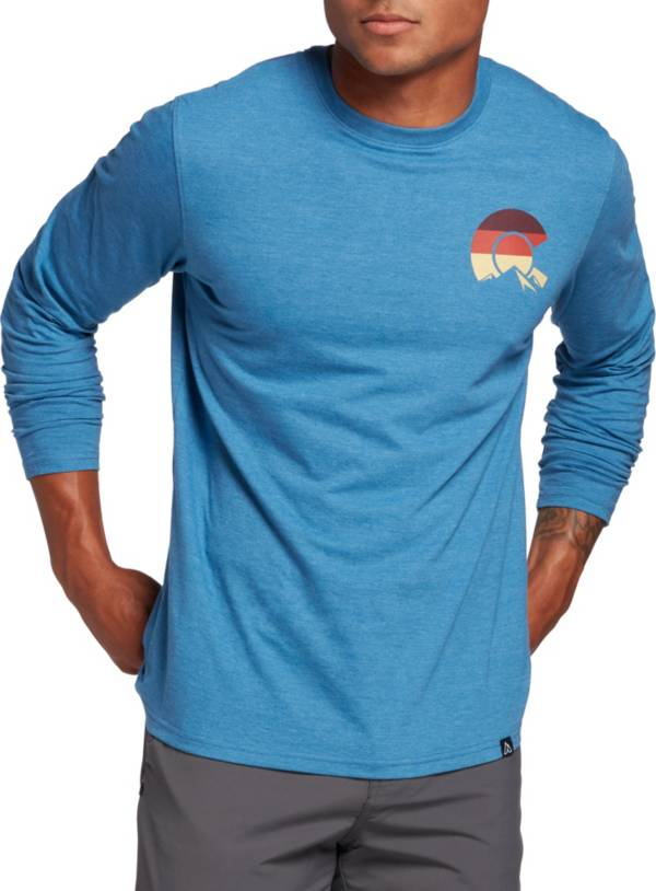 Alpine Design Men's Colorado Mountains Logo Long Sleeve Shirt product image