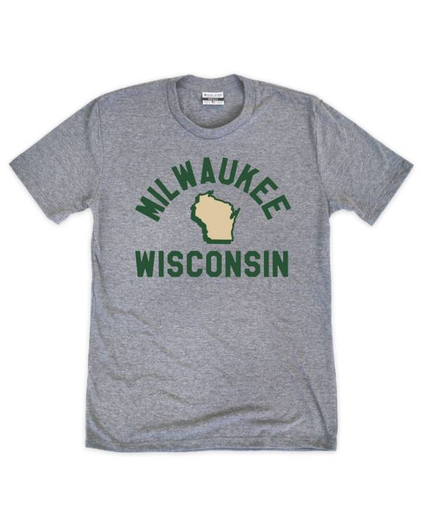 Where I'm From MKE City Arch Grey T-Shirt product image