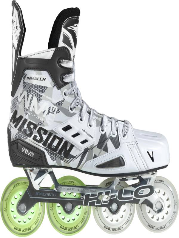 Mission Junior RH Inhaler WM03 Roller Hockey Skates product image
