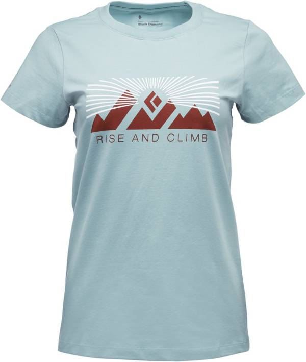 Black Diamond Women's Rise And Climb Short Sleeve T-Shirt product image