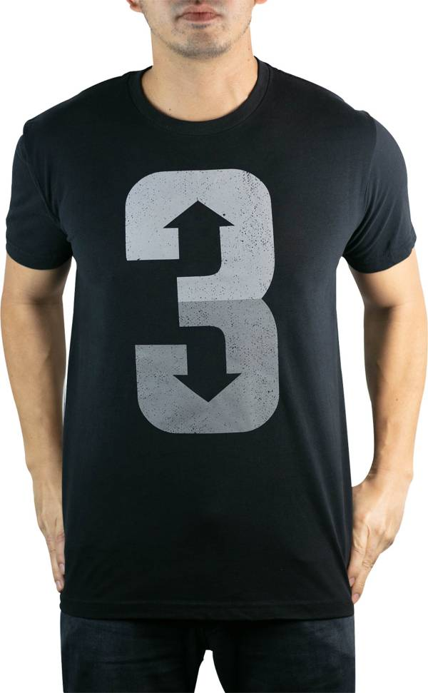 "Baseballism Men's ""3 Up 3 Down"" T-Shirt product image"