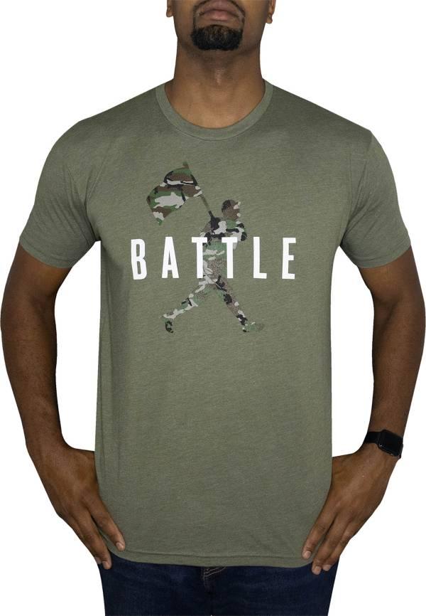 Baseballism Men's Flag Man Battle T-Shirt product image