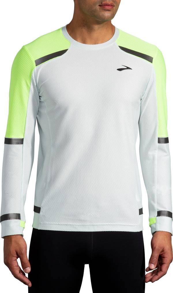 Brooks Men's Run Visible Carbonite Long Sleeve Shirt product image