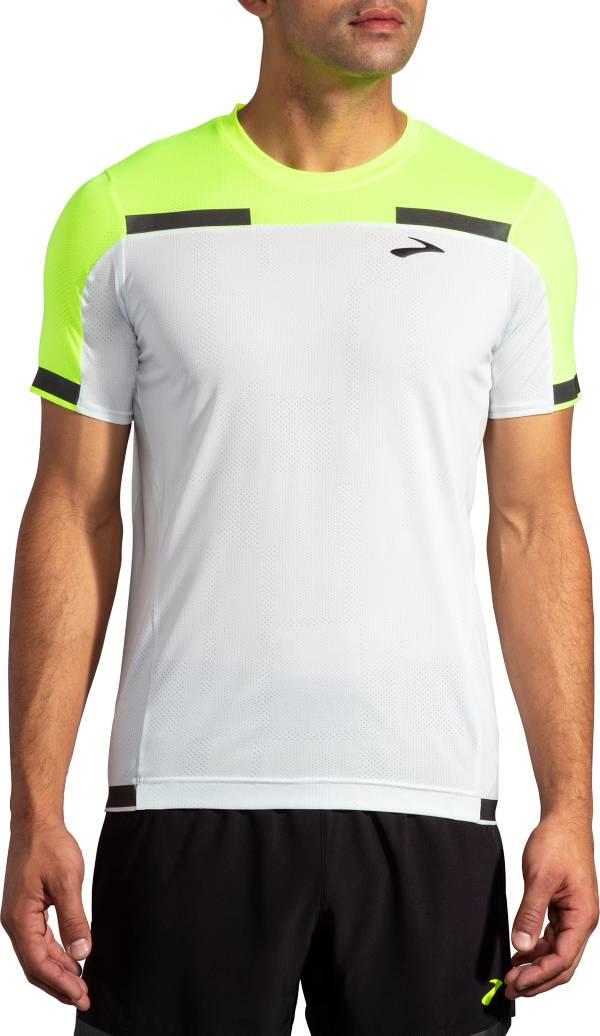Brooks Men's Run Visible Carbonite Short Sleeve T-Shirt product image
