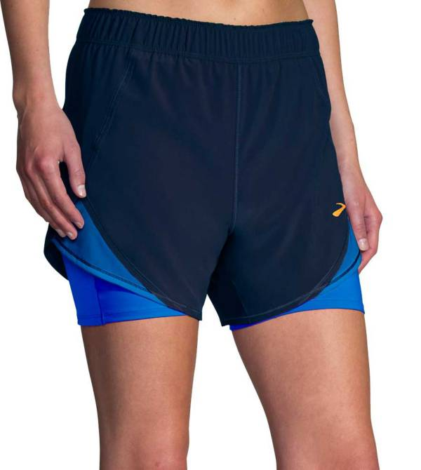 """Brooks Sports Women's Chaser 5"""" 2-in-1 Short product image"""