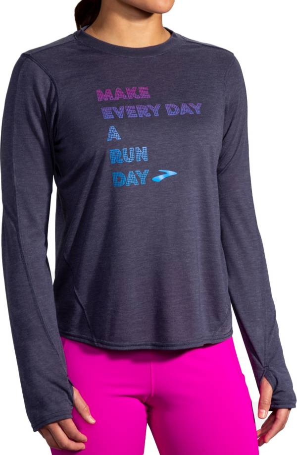 Brooks Women's Distance Graphic Long Sleeve Shirt product image