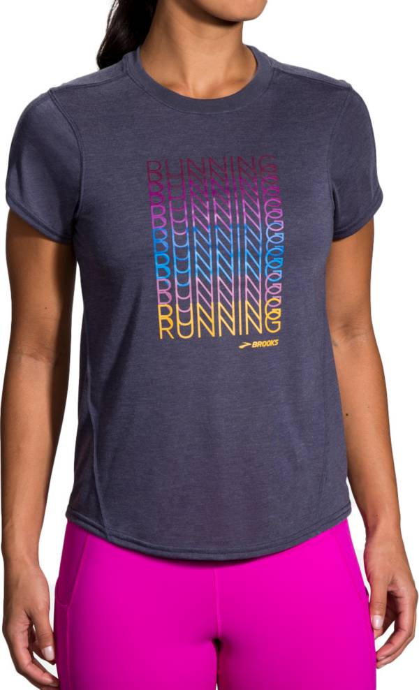 Brooks Women's Distance Graphic Short-Sleeve T-Shirt product image