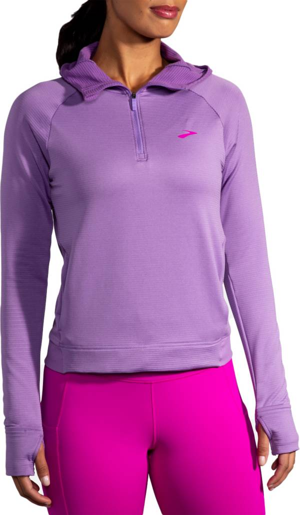Brooks Women's Notch Thermal Hoodie product image