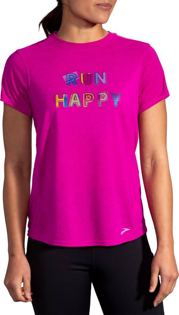 Brooks Women's Run Happy Distance Graphic T-Shirt product image