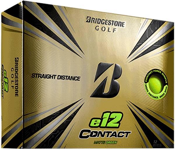 Bridgestone e12 CONTACT Matte Green Golf Balls product image