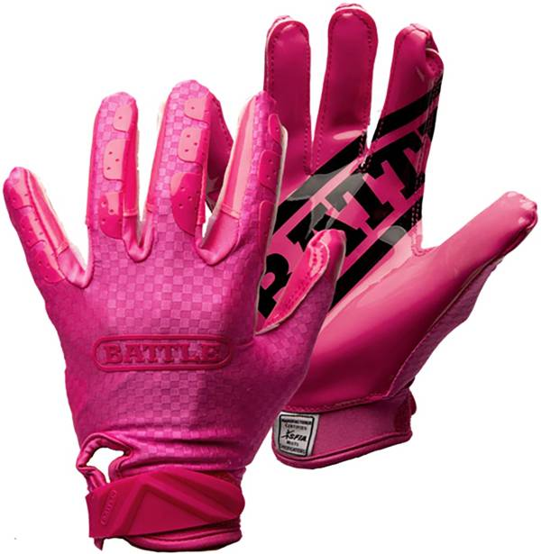 Battle Sports Triple Threat Receiver Football Gloves product image