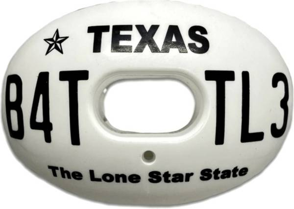 Battle Texas License Plate Oxygen Mouthguard product image
