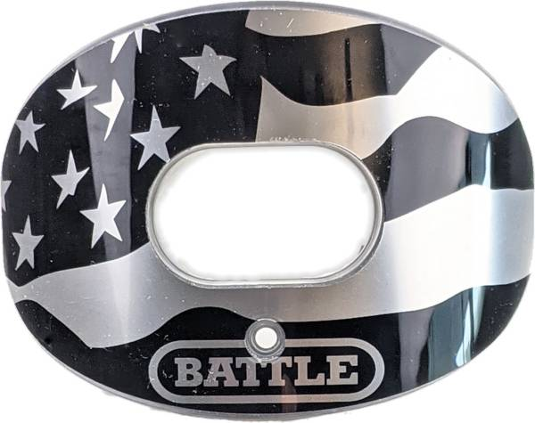 Battle Chrome American Flag Oxygen Lip Guard product image