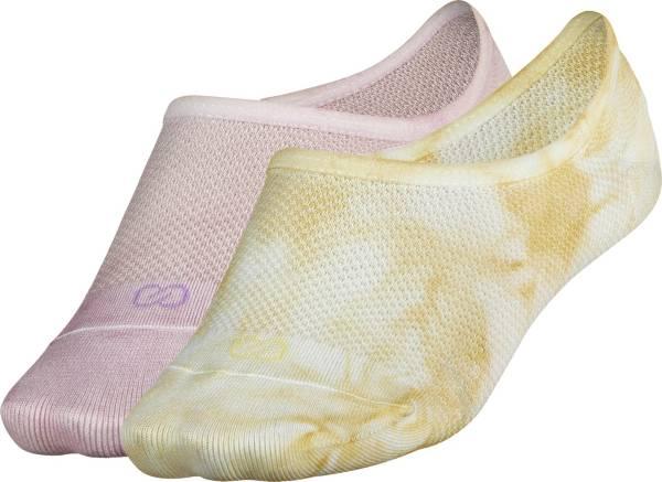 CALIA by Carrie Underwood Women's Tie Dye Footie Socks - 2 Pack product image