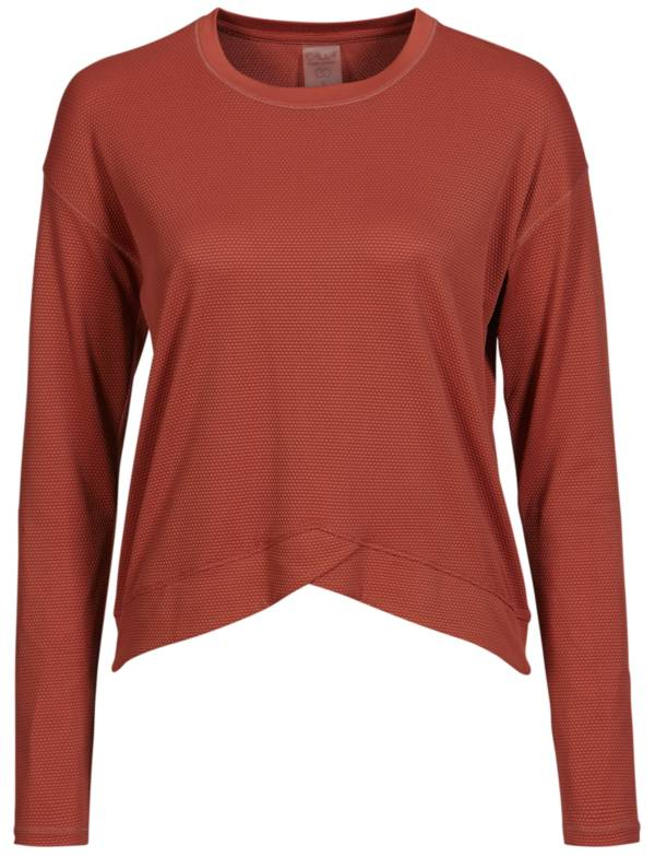 CALIA by Carrie Underwood Women's Bubble Mesh Long Sleeve Shirt product image