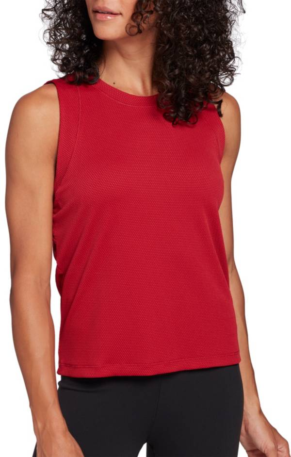 CALIA by Carrie Underwood Women's Bubble Mesh Tank Top product image