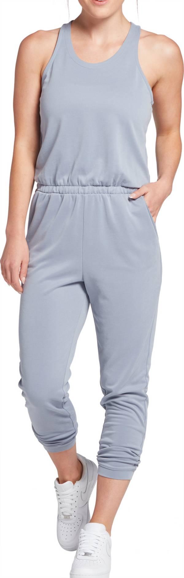 CALIA by Carrie Underwood Women's Halter Neck Sandwash Jumpsuit product image