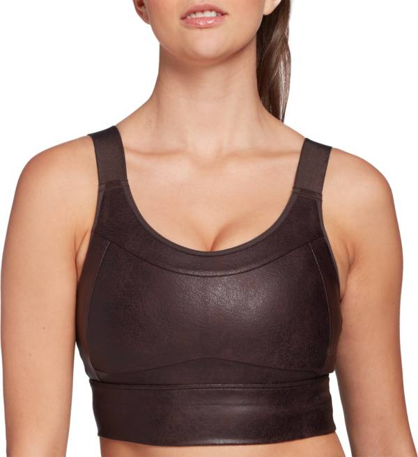 CALIA by Carrie Underwood Women's Sculpt Leather Seamed Long Line Bra product image