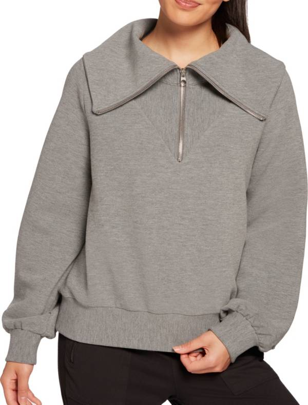 CALIA by Carrie Underwood Women's Ottoman ¼ Zip Pullover Jacket product image