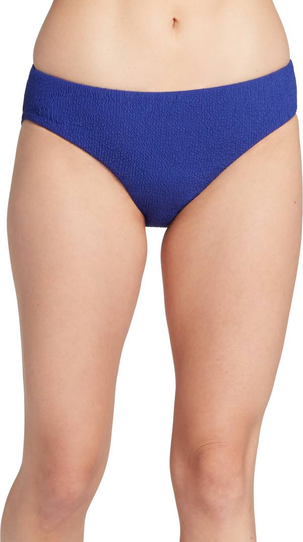 CALIA by Carrie Underwood Women's Textured Mid Rise Swim Bottoms product image