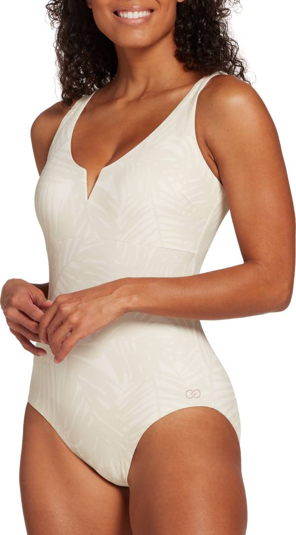 CALIA by Carrie Underwood Women's V Notch Front One Piece Swimsuit product image