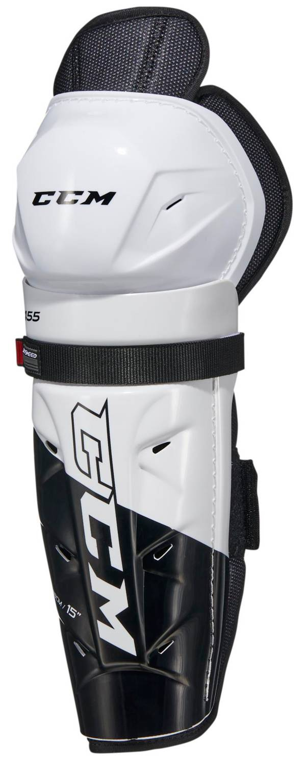 CCM Junior Jet Speed 455 Ice Hockey Shin Guards product image