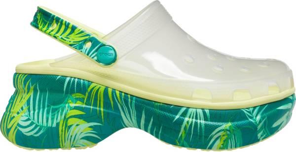 Crocs Women's Classic Bae Translucent Tropical Clogs product image