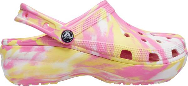 Crocs Women's Classic Platform Marbled Clogs product image