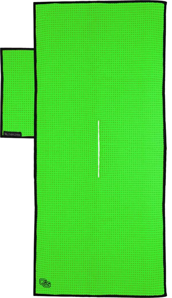 West Coast Trends Inc Neon Green Tandem Towel product image