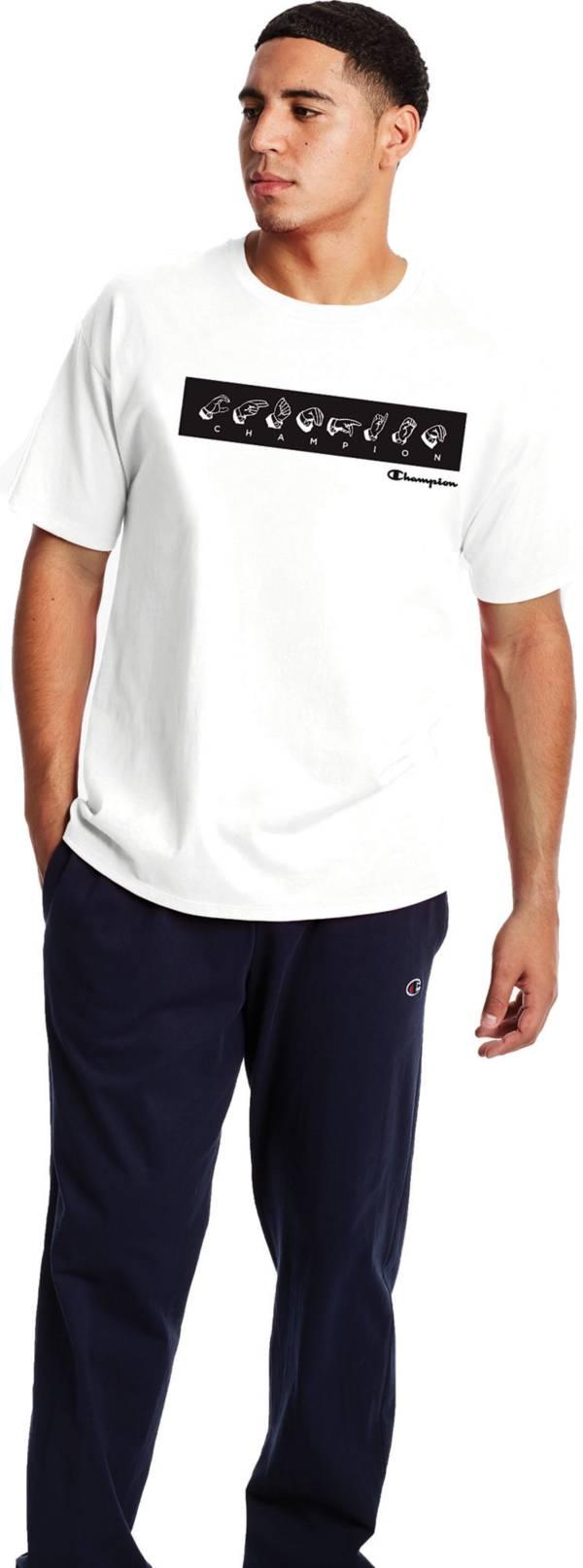 Champion Men's Sign Language Short Sleeve Graphic T-Shirt product image