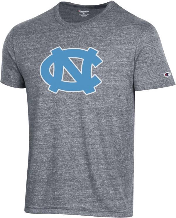 Champion Men's North Carolina Tar Heels Grey Tri-Blend Ultimate T-Shirt product image