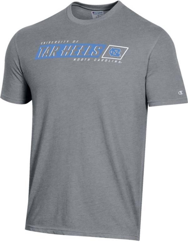 Champion Men's North Carolina Tar Heels Grey T-Shirt product image