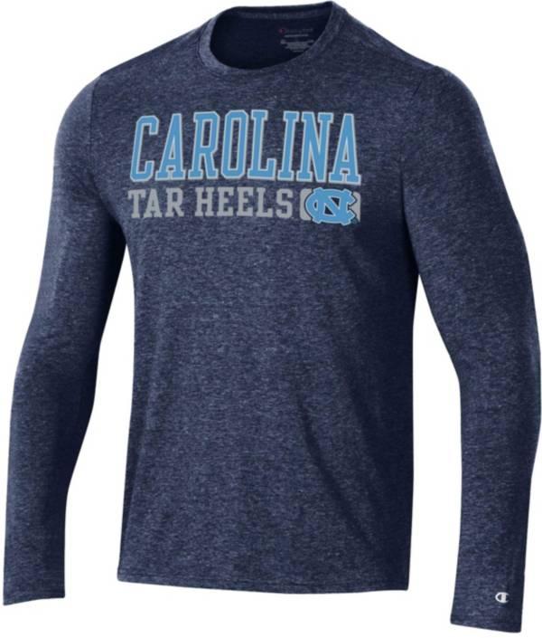 Champion Men's North Carolina Tar Heels Navy Field Day Long Sleeve T-Shirt product image