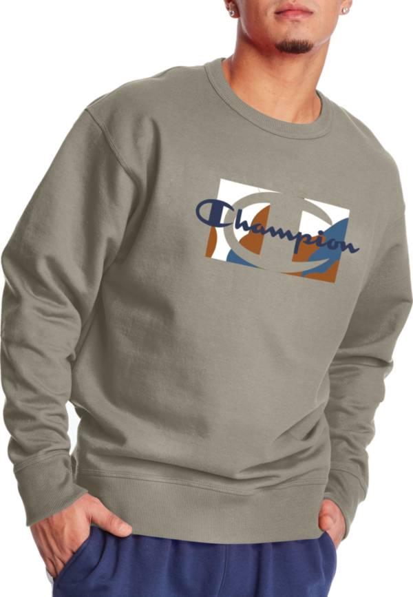 Champion Men's Powerblend Graphic Crewneck Sweatshirt product image
