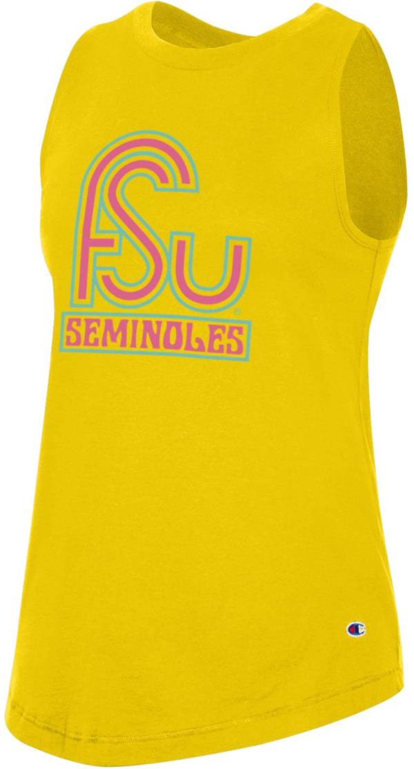 Champion Women's Florida State Seminoles Gold 'Beach Collection' Tank Top product image