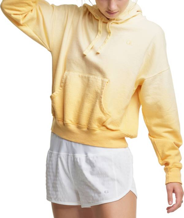 Champion Women's Powerblend Cropped Ombre Boyfriend Hoodie product image