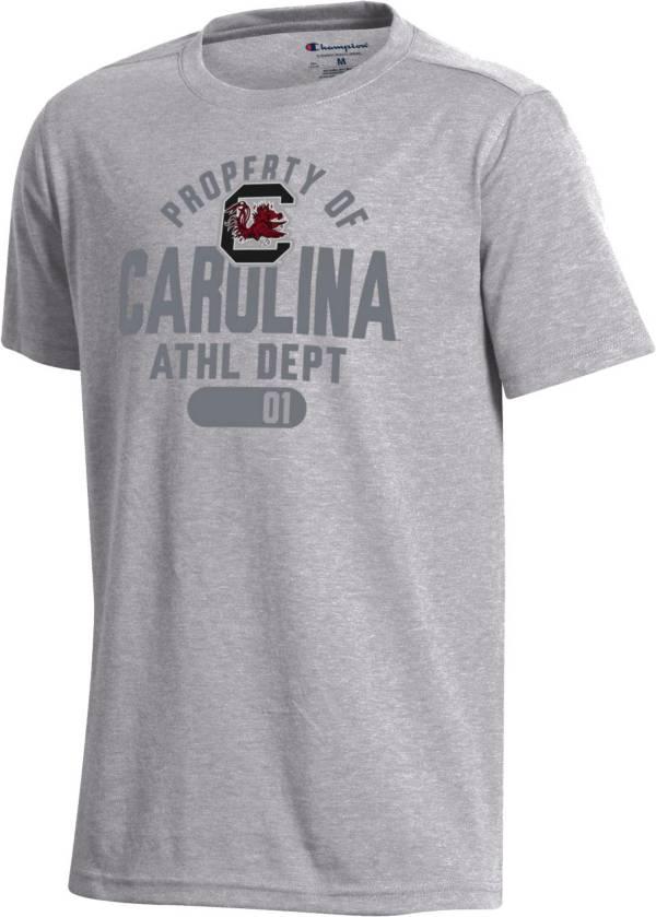 Champion Youth South Carolina Gamecocks Grey Field Day T-Shirt product image