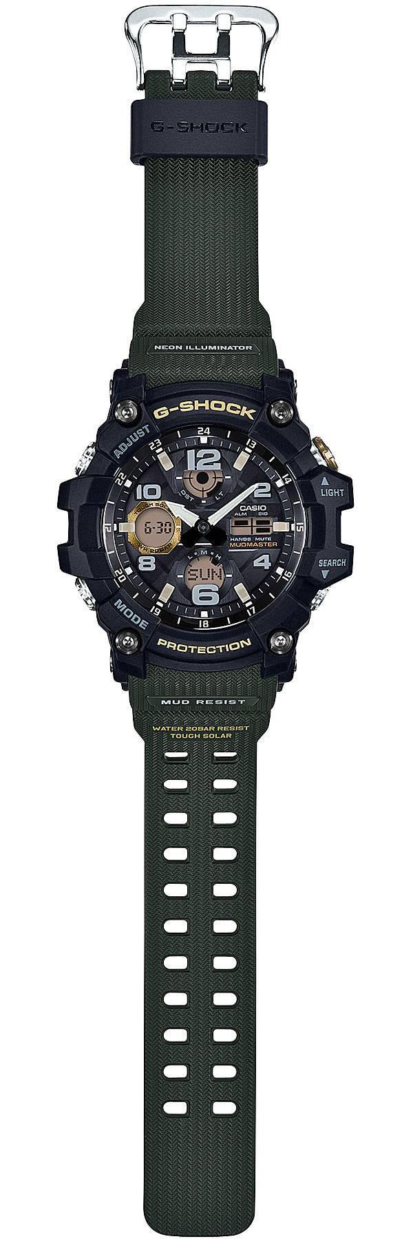 G-SHOCK Mudmaster Solar Watch product image