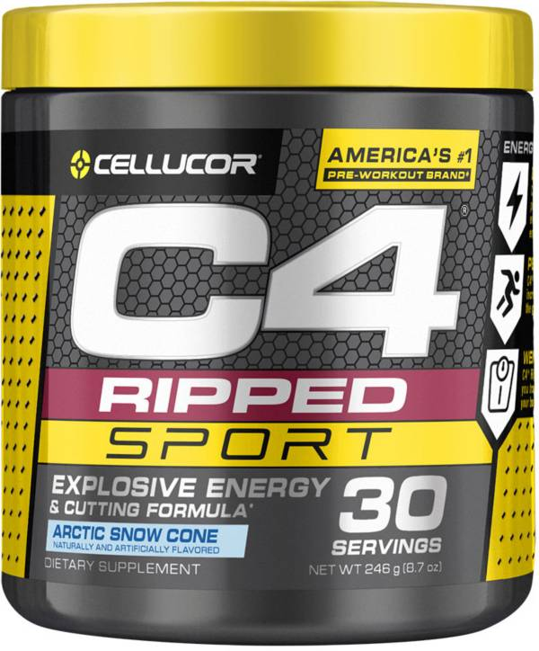Cellucor C4 Sport Ripped Pre-Workout Artic Snow Cone 30 Servings product image