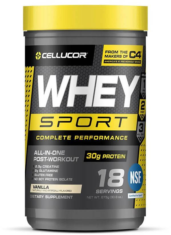 Cellucor C4 Whey Sport Protein Powder - Vanilla product image