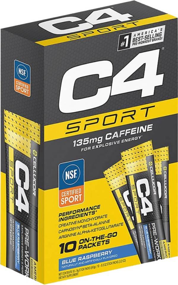 Cellucor C4 Shot Rocks Pre-Workout Blue Razz 12-Pack product image