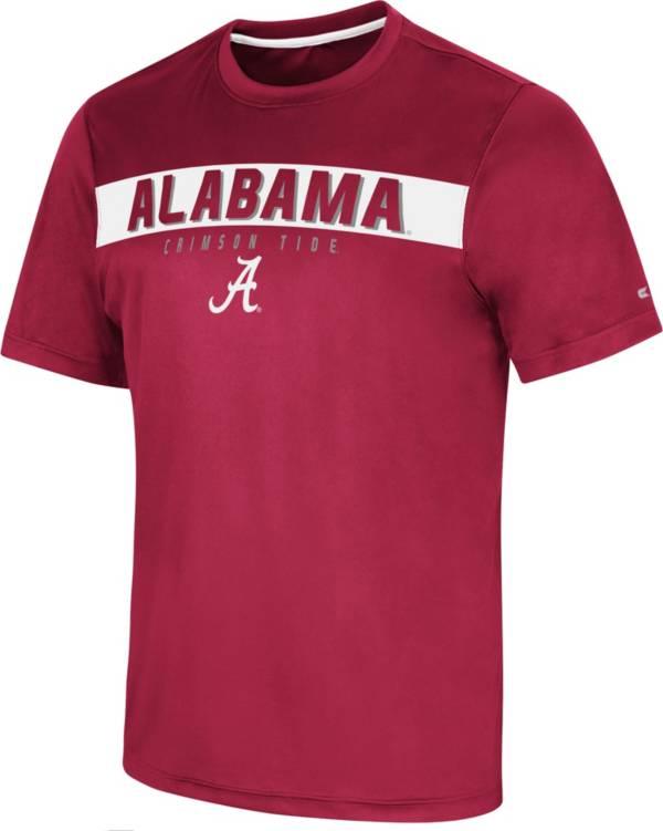 Colosseum Men's Alabama Crimson Tide Crimson Mosbius T-Shirt product image