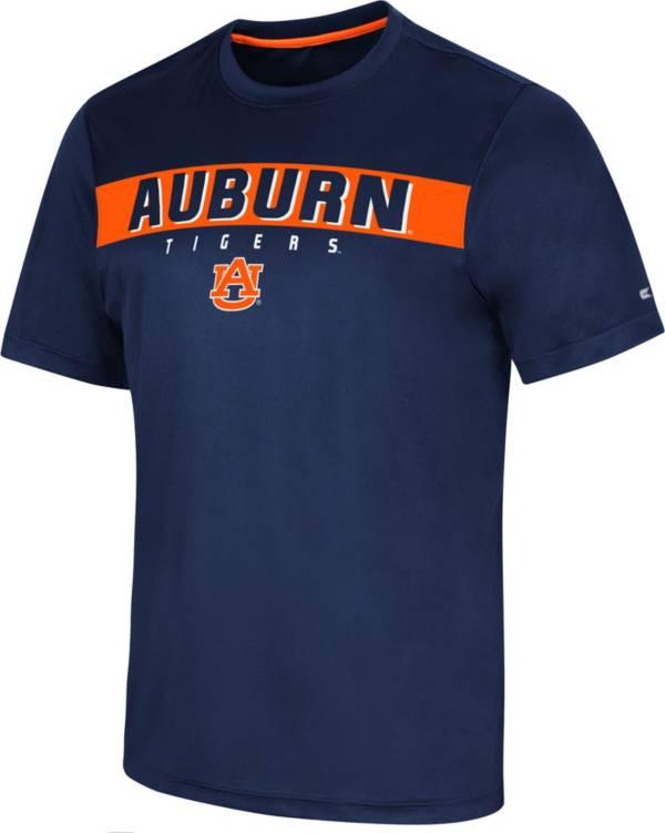 Colosseum Men's Auburn Tigers Blue Mosbius T-Shirt product image