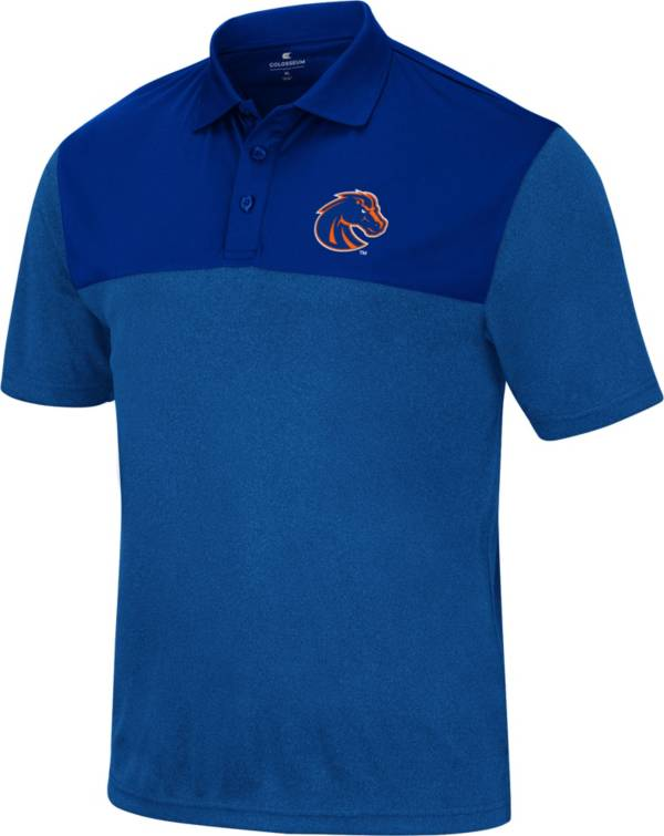 Colosseum Men's Boise State Broncos Blue Polo product image
