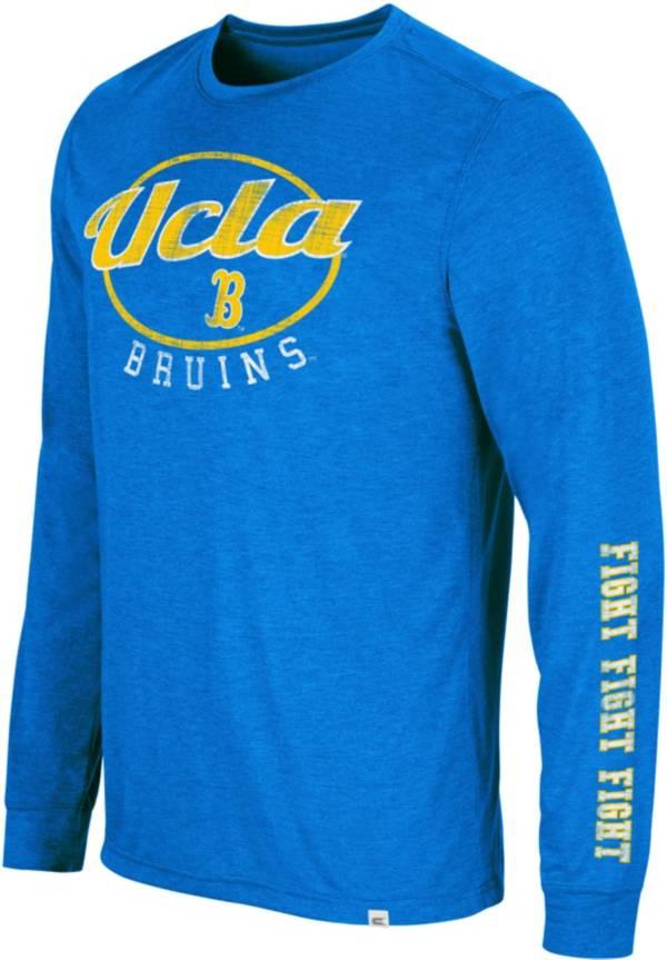 Colosseum Men's UCLA Bruins True Blue Far Out! Long Sleeve T-Shirt product image