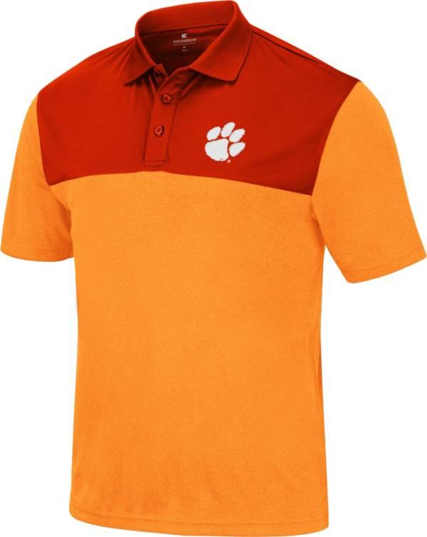 Colosseum Men's Clemson Tigers Orange Polo product image