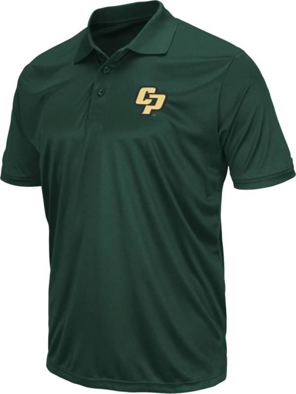 Colosseum Men's Cal Poly Mustangs Green Polo product image