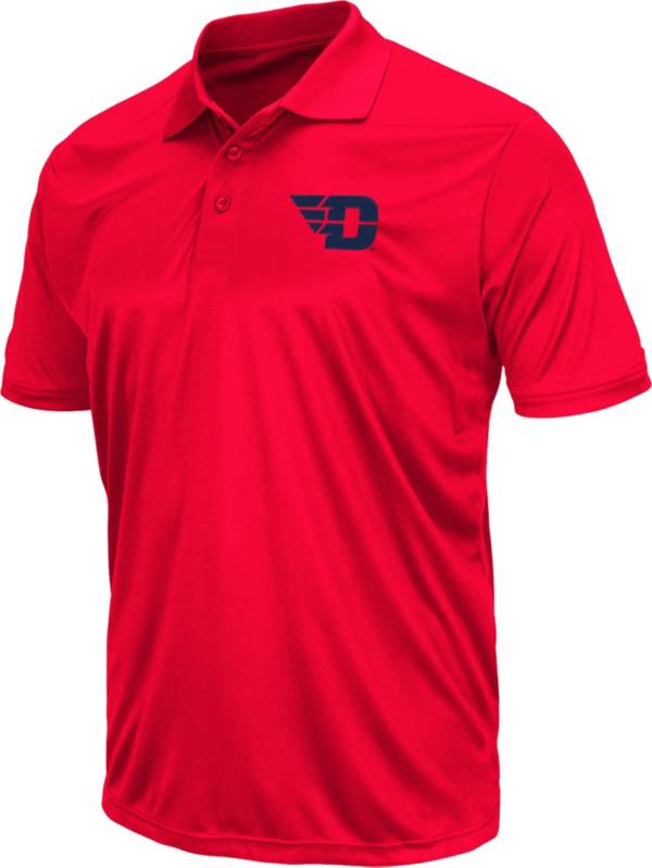 Colosseum Men's Dayton Flyers Red Polo product image